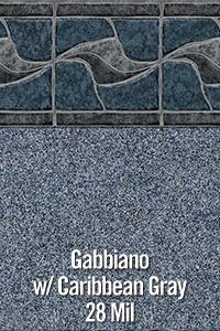 Gabiano with Carribean Grey