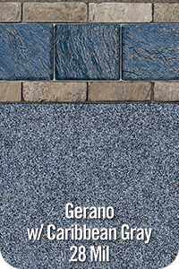 Gerano with Carribean Grey