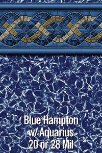 Blue Hampton with Aquarius