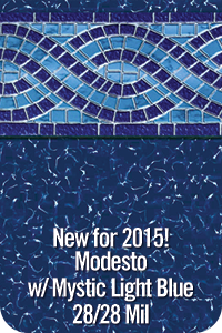 Modesto with Mystic Light Blue