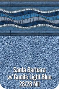 Santa Barbara with Gunite Light Blue