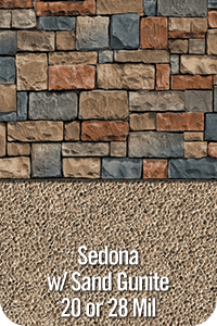 Sedona with Sand Gunite